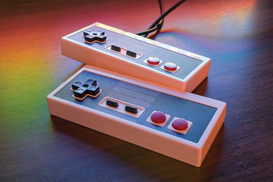 Le cadeau geek : la console de jeux rétro